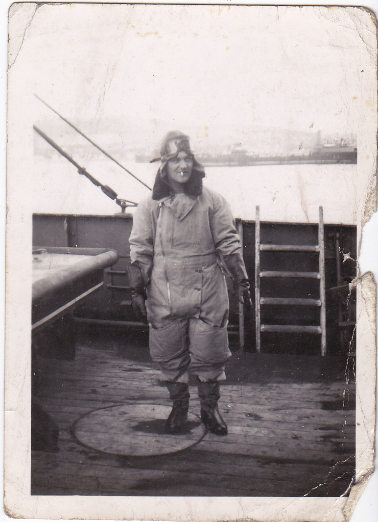 Phil Dix in full Pilot's RAF gear Pic 4 for MW Story