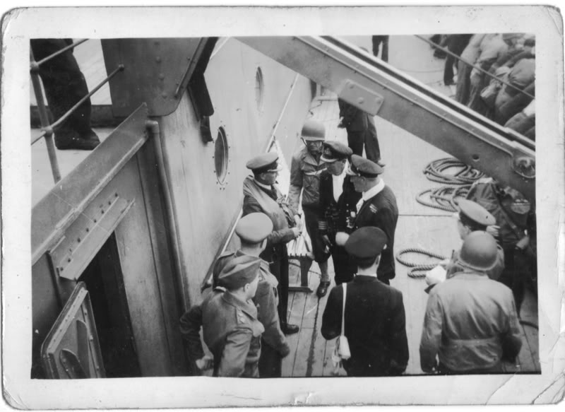 US and GB Officers and Troops possibly on Board SS Manela pic. 3 for MW Story