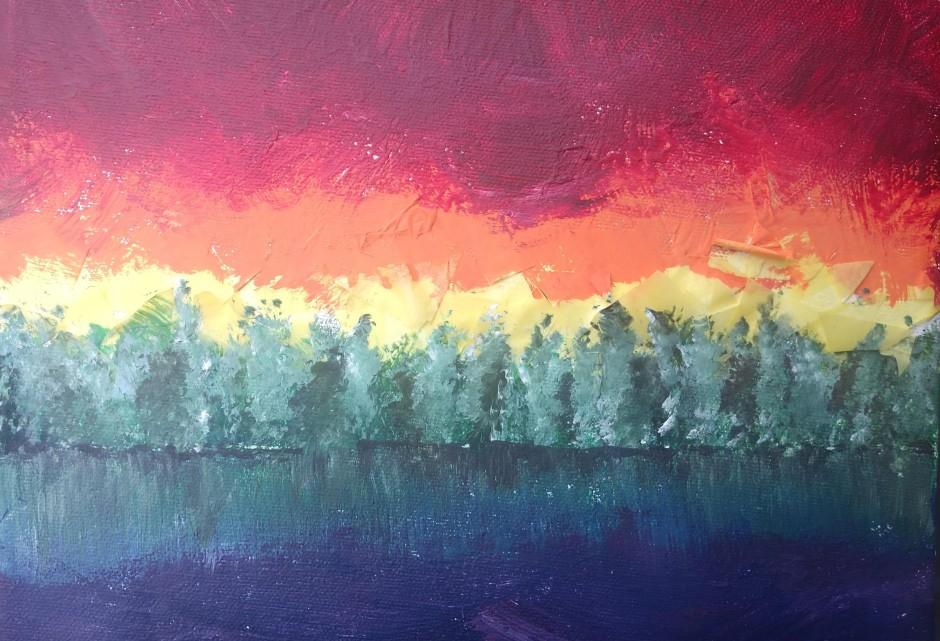 rainbow cover